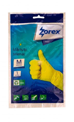 Manusi menaj latex, 2 buc/set, Zorex, marime M 0