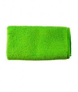 Laveta universala 100 % microfibra verde, 30x30 cm0