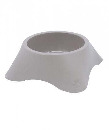 Castron din plastic pentru animale, 300 ml, maro [0]