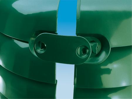 Compostor de gradina, verde, 660 L [2]