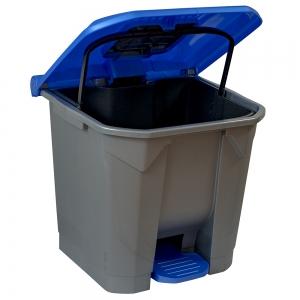 cos-gunoi-cu-pedala-cex-cube-30-l-albastru [2]