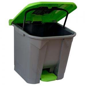 cos-gunoi-cu-pedala-cex-cube-30-l-verde [3]