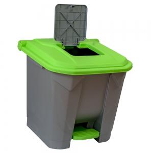 cos-gunoi-cu-pedala-cex-cube-30-l-verde [2]