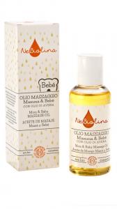 Ulei pentru masaj mama si bebe,NeBiolina, Certificat BIO ICEA, 100 ml