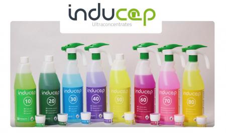Kit detergent anticalcar ultraconcentrat baie, Inducap 60, 22 ml [3]