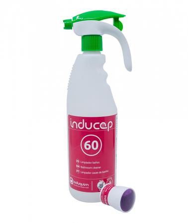 Kit detergent anticalcar ultraconcentrat baie, Inducap 60, 22 ml [1]