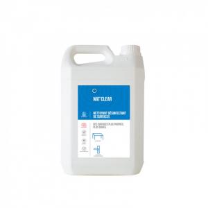 Detergent igienizant pentru suprafete,  Bio, NAT CLEAR, 5 L
