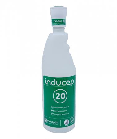 Kit detergent igienizant ultraconcentrat cu amoniac, Inducap 20, 22 ml [1]