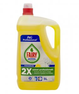 Detergent vase Fairy Professional Lemon, 5L0