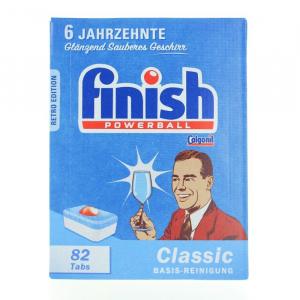 Finish Classic detergent pentru masina de spalat vase,Retro Edition, 82 tablete0