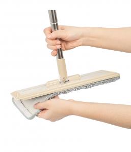 Galeata cu mop plat 40 cm, Tablet, cu 2 compartimente, 10 L (2*5L)3