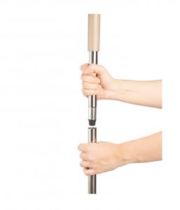 Galeata cu mop plat 40 cm, Tablet, cu 2 compartimente, 10 L (2*5L)2