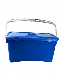 Galeata pentru spalare geam cu capac, albastra, 25 L1