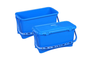 Galeata pentru spalare geam cu capac, albastra, 25 L0