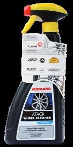 Solutie curatat jante si capace, Atack Wheel Cleaner, Autoland, 700 ml0