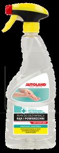 Igienizant universal pentru maini si suprafete, Bio-Clean Max, Autoland, 750 ml0