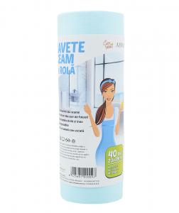 Lavete geam pe rola, Ciao Bella, Azura, 40 buc/ rola [2]