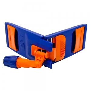 Mecanism mop cu urechi si buzunare, 40 cm, albastru