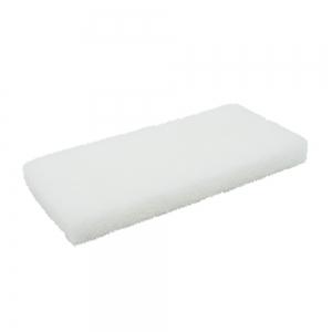 Pad fibra abraziva XXL, alb, 12 x 25 cm1
