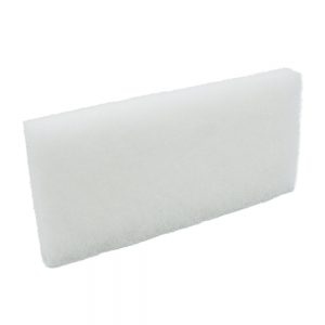 Pad fibra abraziva XXL, alb, 12 x 25 cm0
