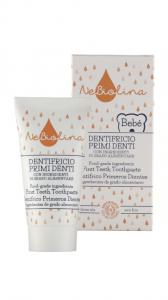 Pasta de dinti pentru copii (primii dintisori), BIO, 50 ml, Nebiolina