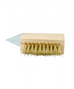 Perie din alama pentru curatarea pavajului [0]