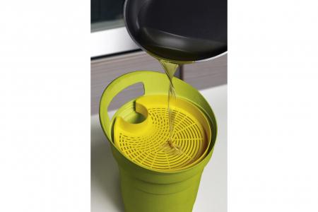 Recipient colectare ulei uzat, verde, 3 L [2]
