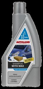 Sampon auto foarte concentrat, cu ceara,  Autoland, 950 ml0