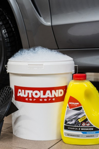 Sampon auto concentrat cu ceara, Shampoo with wax, Autoland, 3 L [1]