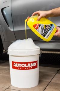 Sampon auto concentrat cu ceara, Shampoo with wax, Autoland, 3 L [2]