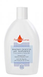 Gel de dus cu pH neutru, NeBiolina, Certificat BIO ICEA, 500 ml