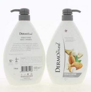 Sapun lichid Dermomed Karite Mandorla, 1L1