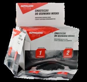Servetele pentru indepartare ceara auto, Autoland, 2 buc [0]