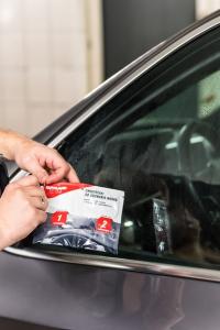 Servetele pentru indepartare ceara auto, Autoland, 2 buc [1]