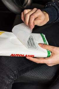 Servetele umede pentru curatarea mainilor, Autoland, 25 buc1