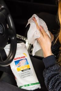 Servetele umede pentru curatarea mainilor, Autoland, 25 buc2