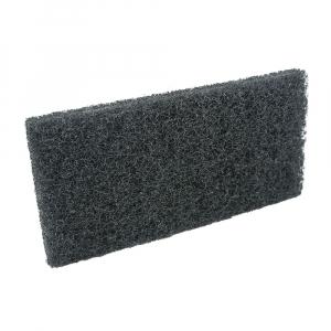 Pad fibra abraziva XXL, negru, 12 x 25 cm0