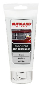 Pasta ingrijire ornamente crom si aluminiu, Autoland, 150 ml [0]