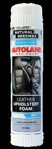 Spuma pentru curatarea tapiteriei din piele, Autoland, 400 ml0