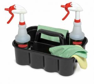 Cos din plastic pentru unelte / produse de curatenie1