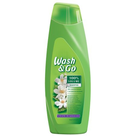 Șampon Wash & Go Jasmine, 400ml 0