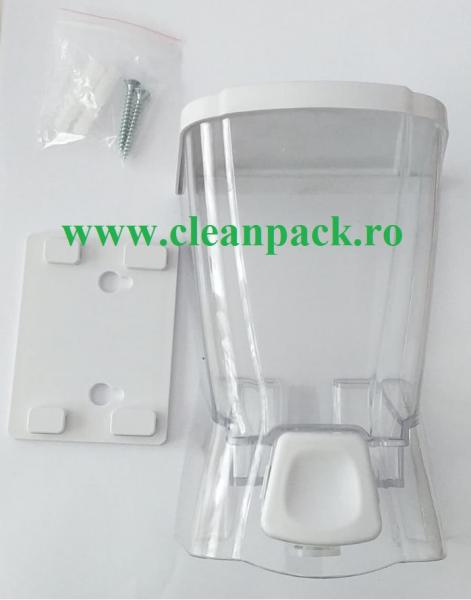 Dispender sapun lichid Zambak, 500ml 0