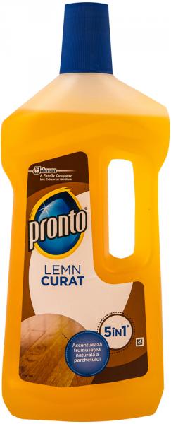 Detergent pentru parchet Pronto Lemn curat 750ml. 0