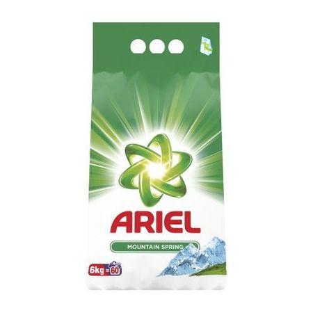 Detergent pudră Ariel Mountain Spring 6 kg - 60 spălări [0]