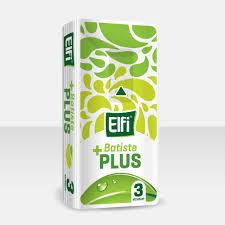 Batiste Igienice ELFI Plus, 3 straturi, 10 buc. 0