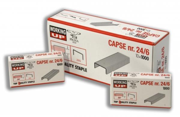Capse Working-Up Pigna  24/6 0