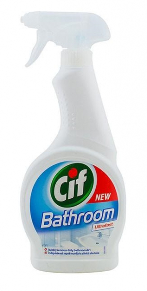 CIF Bathroom Ultrafast soluție baie , 500 ml 0