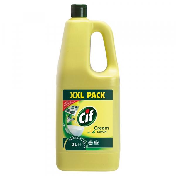 Cif crema pentru curatat profesional Lemon, 2L 0