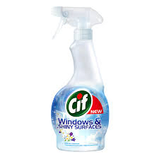 Soluție curatat geamuri Cif Windows&Shiny Surfaces Spring Fresh, 500ml 0