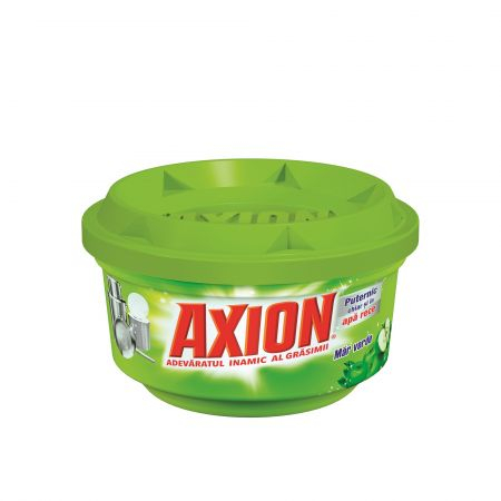 Detergent de vase pastă Axion Apple, 225 gr. 0